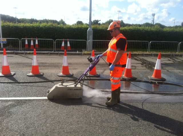 road marking removal services