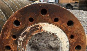 Remove Corrosion at Hydroblast