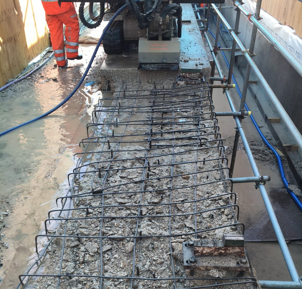 Parapets Concrete Removal Balfour Chavely