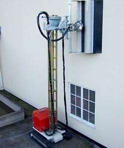 hydaulic steel mast - hydrodemolition equipment