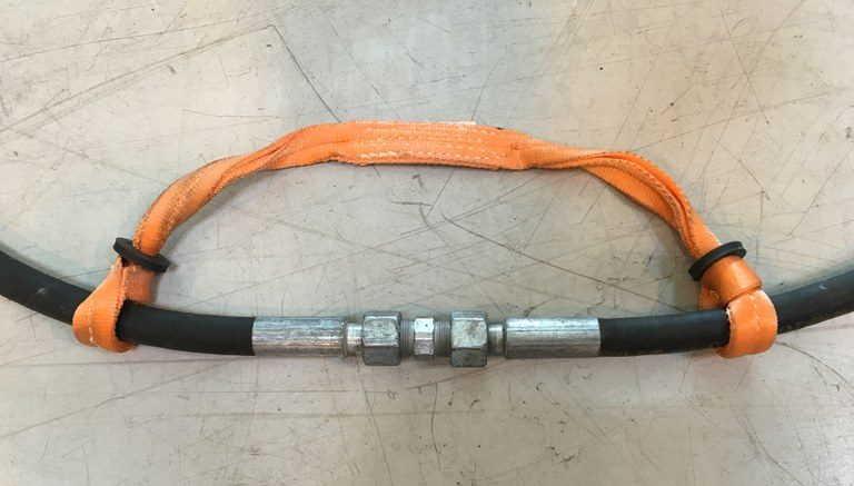 One-Ply Nylon belt style whip check
