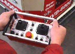 robotic hydrodemolition remote control