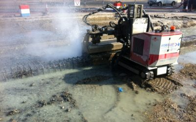 How we use Hydrodemolition