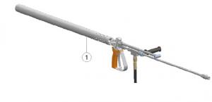 underwater hydro demolition diving gun