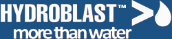 hydroblast logo footer