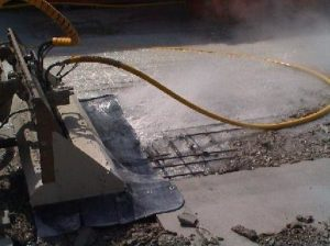 concrete removal with water