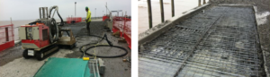 concrete bridge deck removal