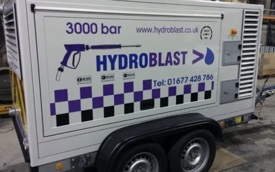 Hydroblast Invests in the Latest Ultra High Pressure Water Jetting Equipment