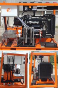 Denjet CD Series Diesel Water Jetting Engine