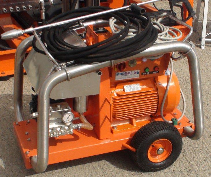 High Pressure Water Jetting Equipment for Sale - Water Blasting