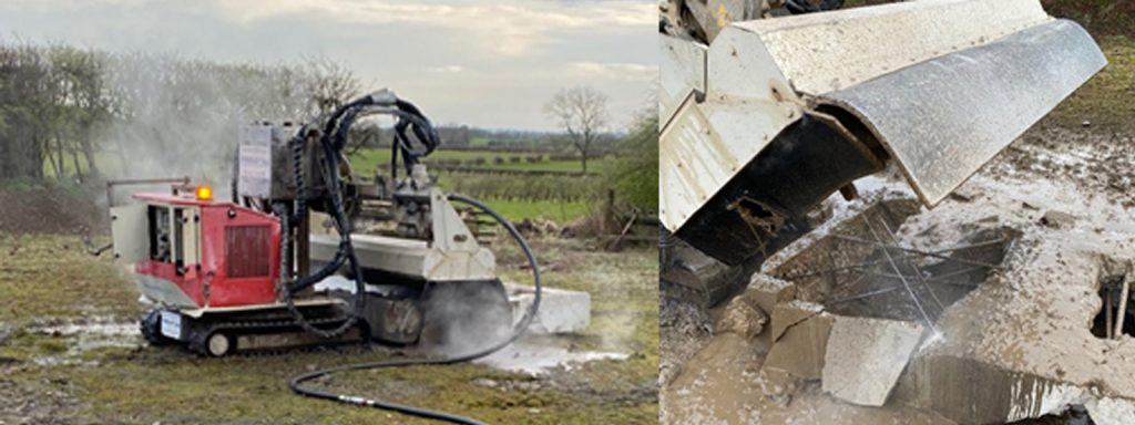 Hydro Demolition robot