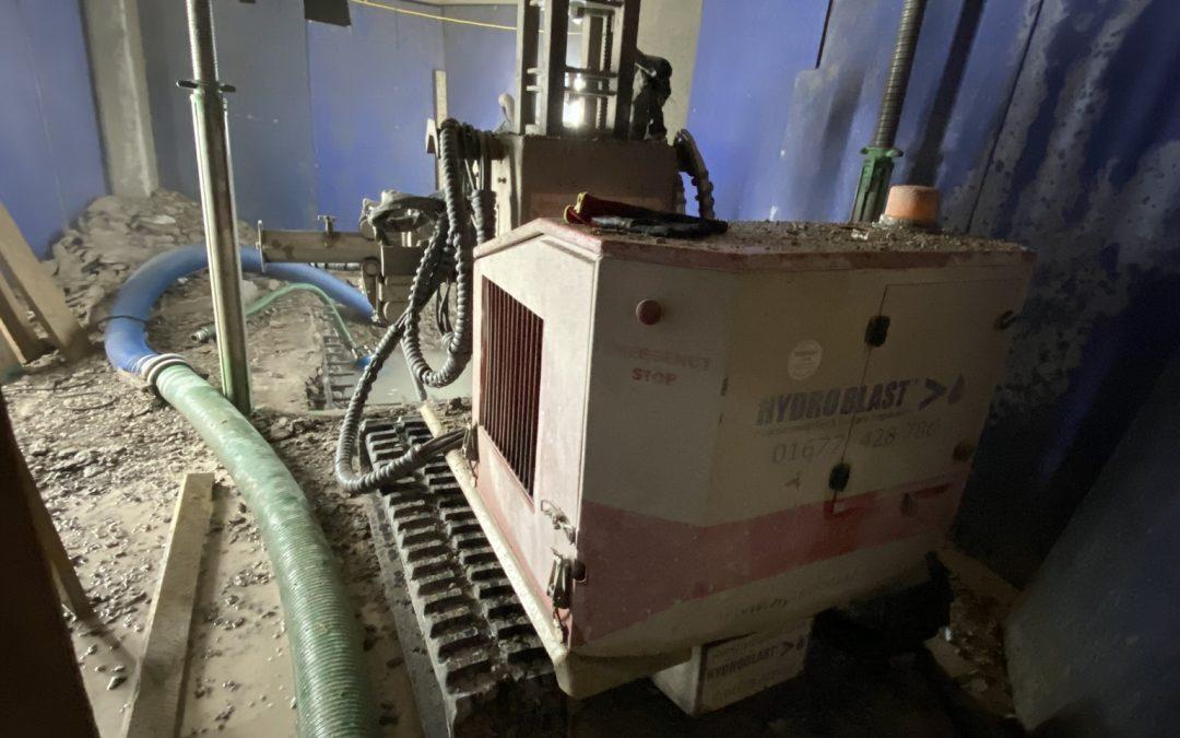 Robot Hydrodemolition